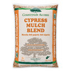 2 Cubic-ft Light Brown/Gold Cypress Blend Mulch