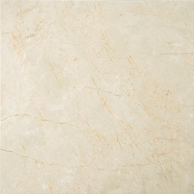Home Style Selections 12-in x 12-in Crema Marfil Natural Marble Floor