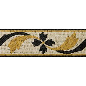 Emser 4-in x 12-in Gira Listello Natural Marble Floor Tile