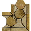 Emser 4-in x 4-in Napolis Listello Corner Tumbled/Polished Natural Travertine Wall and Floor Tile