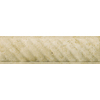 Emser 12-in x 4-in Ritz Moulding Beige Natural Travertine Wall Tile