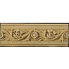 Emser 12-in x 4-in Romansa Tralcio Beige Moulding Natural Travertine Wall Tile