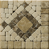 Emser 4-in x 4-in Scultura Listello Corner Natural Marble Wall and Floor Tile