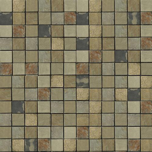 Slate Stone Mosaic Porcelain Tile At Lowes Tile Floors