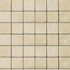 Emser 12-in x 12-in Ancient Beige Square Mount Mesh Natural Travertine Wall and Floor Tile