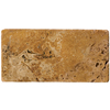 Emser 24-in x 16-in Ancient Unfilled and Tumbled Oro Natural Travertine Wall and Floor Tile