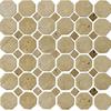 Emser 12-in x 12-in Octagon Beige/Mocha Natural Travertine Floor Tile