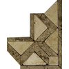 Emser 3-in x 3-in Rio Natural Travertine Floor Tile