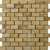 Emser 12-in x 12-in Split Face Mount Gold Natural Travertine Floor Tile