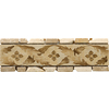 Emser 12-in x 4-in Arena Natural Travertine Floor Tile