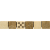 Emser 12-in x 2-in Montecristo Natural Travertine Floor Tile