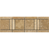 Emser 12-in x 4-in Cortese Natural Travertine Floor Tile