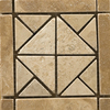 Emser 4-in x 4-in Freisa Natural Travertine Floor Tile