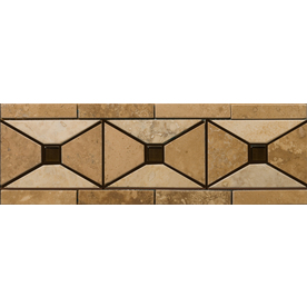 Emser 12-in x 4-in Faloria Natural Travertine Floor Tile