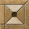 Emser 4-in x 4-in Faloria Natural Travertine Floor Tile