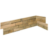 Emser 27-in x 6-in Rustic Gold Natural Slate Wall Tile