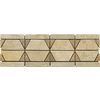 Emser 12-in x 4-in Dolcetto Natural Travertine Floor Tile
