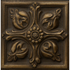 Emser 2-in x 2-in Renaissance Bronze Metal Square Accent Tile