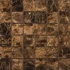 Emser Marrone Emperador Dark Marble Floor and Wall Tile (Common: 12-in x 12-in; Actual: 12-in x 12-in)