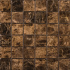 Emser 12-in x 12-in Marrone Emperador Dark Natural Marble Floor Tile
