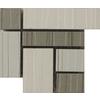 Emser 4-in x 4-in Seta Caldo Glazed Porcelain Listello Tile