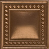 Emser 2-in x 2-in Plaza Bronze Metal Square Accent Tile