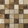 Emser 13-in x 13-in Taverna Glazed Porcelain Mosaic Floor Tile