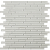 Emser 12-in x 12-in Lucente Blanc Glass Wall Tile
