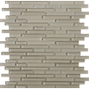 Emser 12-in x 12-in Lucente Morning Fog Glass Wall Tile