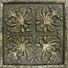 Emser 4-in x 4-in Camelot Merlin Bronze Metal Square Accent Tile