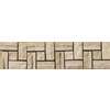 Emser 12-in x 3-in Ferrara Natural Travertine Floor Tile