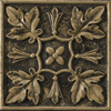 Emser 4-in x 4-in Camelot Arthur Bronze Metal Square Accent Tile