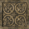 Emser 4-in x 4-in Camelot Guinevere Bronze Metal Square Accent Tile