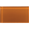 Emser 3-in x 6-in Lucente Cinnamon Glass Wall Tile