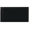 Emser 3-in x 6-in Lucente Noir Glass Wall Tile