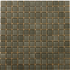 Emser 12-in x 12-in Lucente Pewter Glass Wall Tile