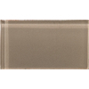 Emser 3-in x 6-in Lucente Soft Mauve Glass Wall Tile