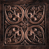 Emser 4-in x 4-in Camelot Copper Metal Square Accent Tile