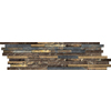 Emser 4-Pack Rustic Gold Slate Floor and Wall Tile (Common: 6-in x 24-in; Actual: 5.89-in x 23.89-in)