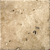 Emser 8.05-in x 8.05-in Umbria Bruno Natural Travertine Floor Tile