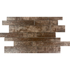 Emser 8-Pack Copper Linear Mosaic Porcelain Floor and Wall Tile (Common: 12-in x 18-in; Actual: 11.77-in x 18.98-in)