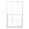 Milgard StyleLine Vinyl Double Pane Single Strength New Construction Single Hung Window (Rough Opening: 24-in x 48-in; Actual: 23.5-in x 47.5-in)
