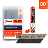 Paslode Fuel+Nail Combo Pack 3-in x .120 SM Brite