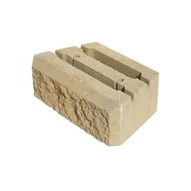Sand Insignia Retaining Wall Block (Common: 12-in x 4-in; Actual: 12-in x 4-in)
