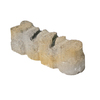 Sand/Grey Alameda Edging Stone (Common: 3-in x 12-in; Actual: 3.6-in H x 12-in L)