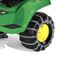 John Deere 2-Pack 20-in x 10-in x 8-in Tire Chains