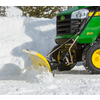 John Deere 46-in W x 13.5-in H Steel Snow Plow