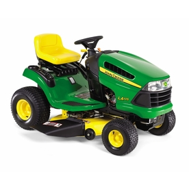 John Deere 19.5 HP Manual 42-in Riding Lawn Mower with Briggs &amp; Stratton Engine