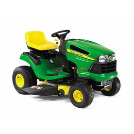 John Deere 19.5-HP Hydrostatic 42-in Riding Lawn Mower with Briggs & Stratton Engine