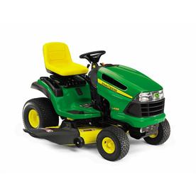 John Deere 22 HP V-Twin Hydrostatic 48-in Riding Lawn Mower with Briggs &amp; Stratton Engine